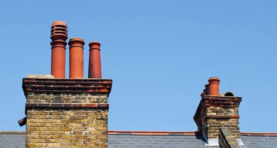 Victorian chimney stacks